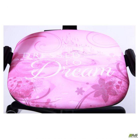 Кресло розового цвета, кресло для девочки принцесса Аврора вид сиденья