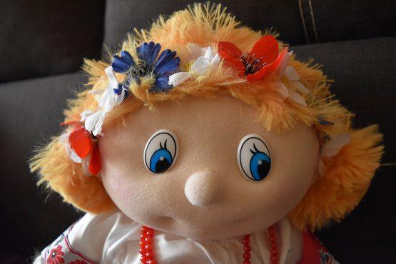 Плюшевая кукла украина2 Маричка